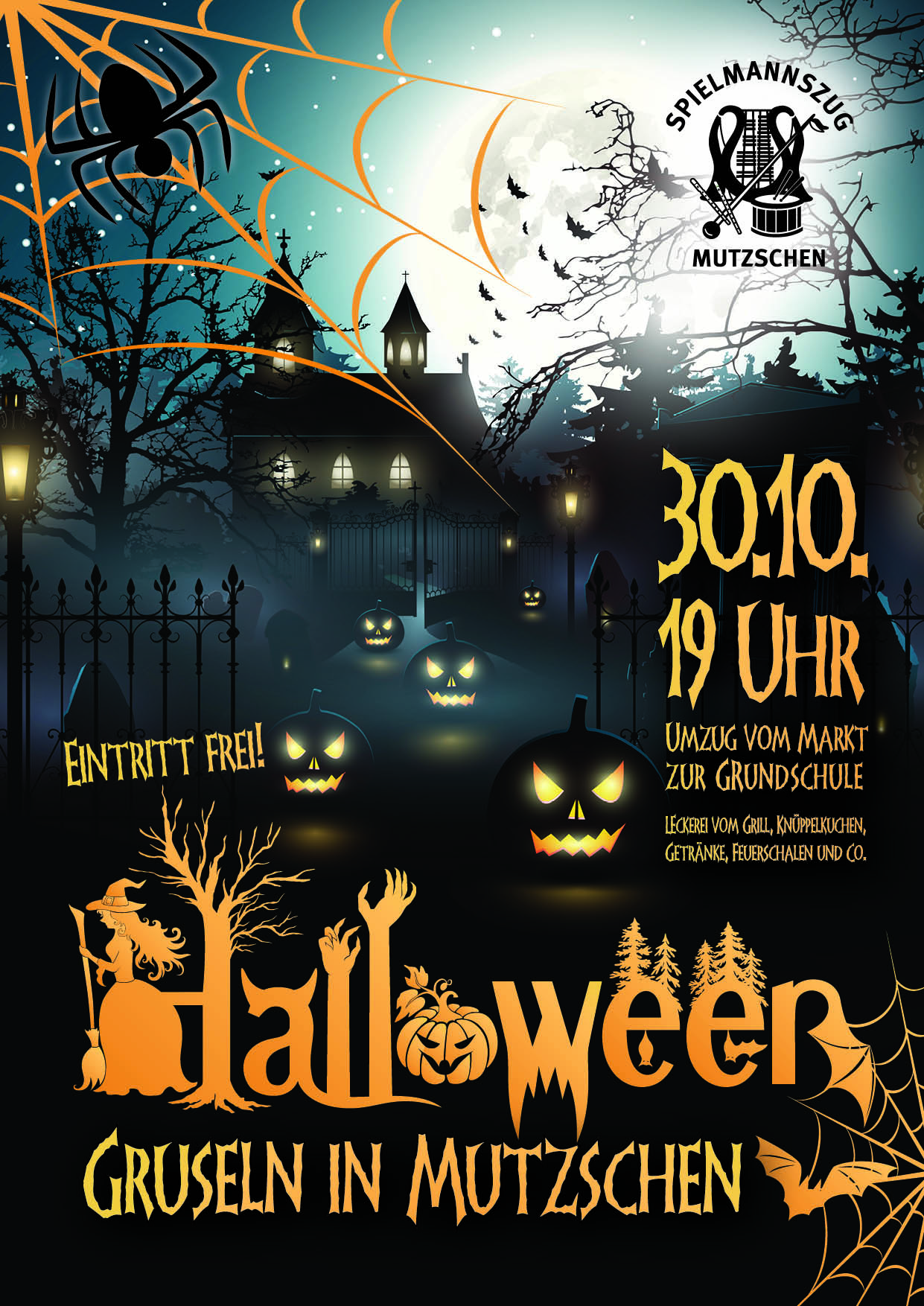 Entwurf Halloween screen