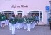 Der Nachwuchsspielmannszug Mutzschen beim Maibaumstellen in Mutzschen am 30.04.2013 (11/14)
